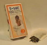 T Sac Tea Filters