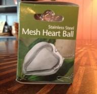 Heart Tea Ball